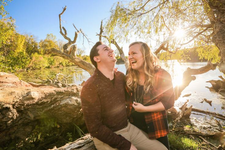 Nena & Zach. Engaged.