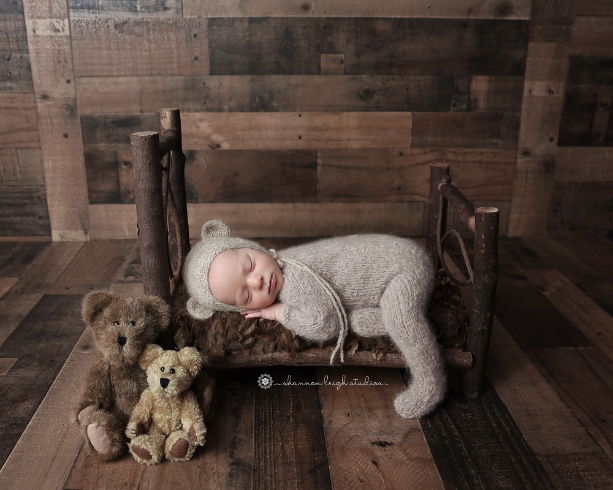 Sweet Wesley - Georgia Newborn Photographer