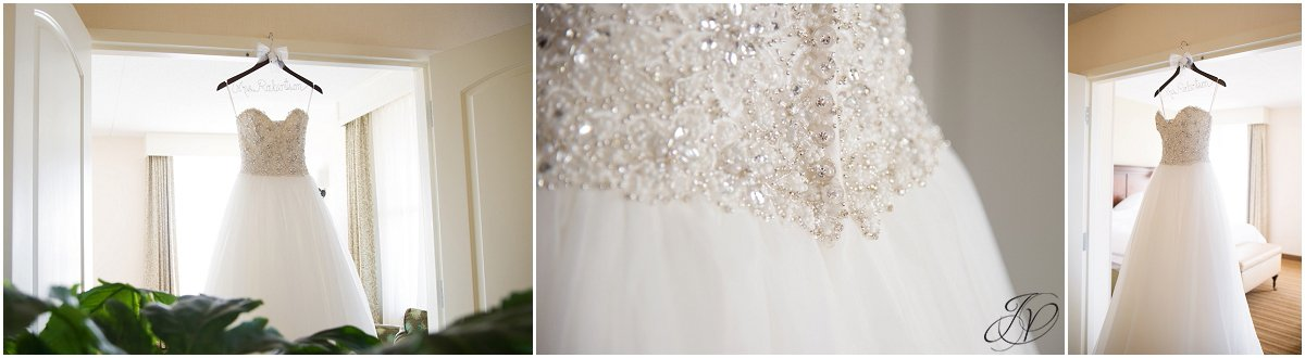 wedding dress details Kleinfeld Bridal