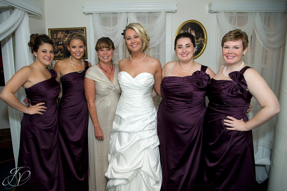 bridal party photo, wedding photography, Saratoga Wedding Photographer, Longfellows