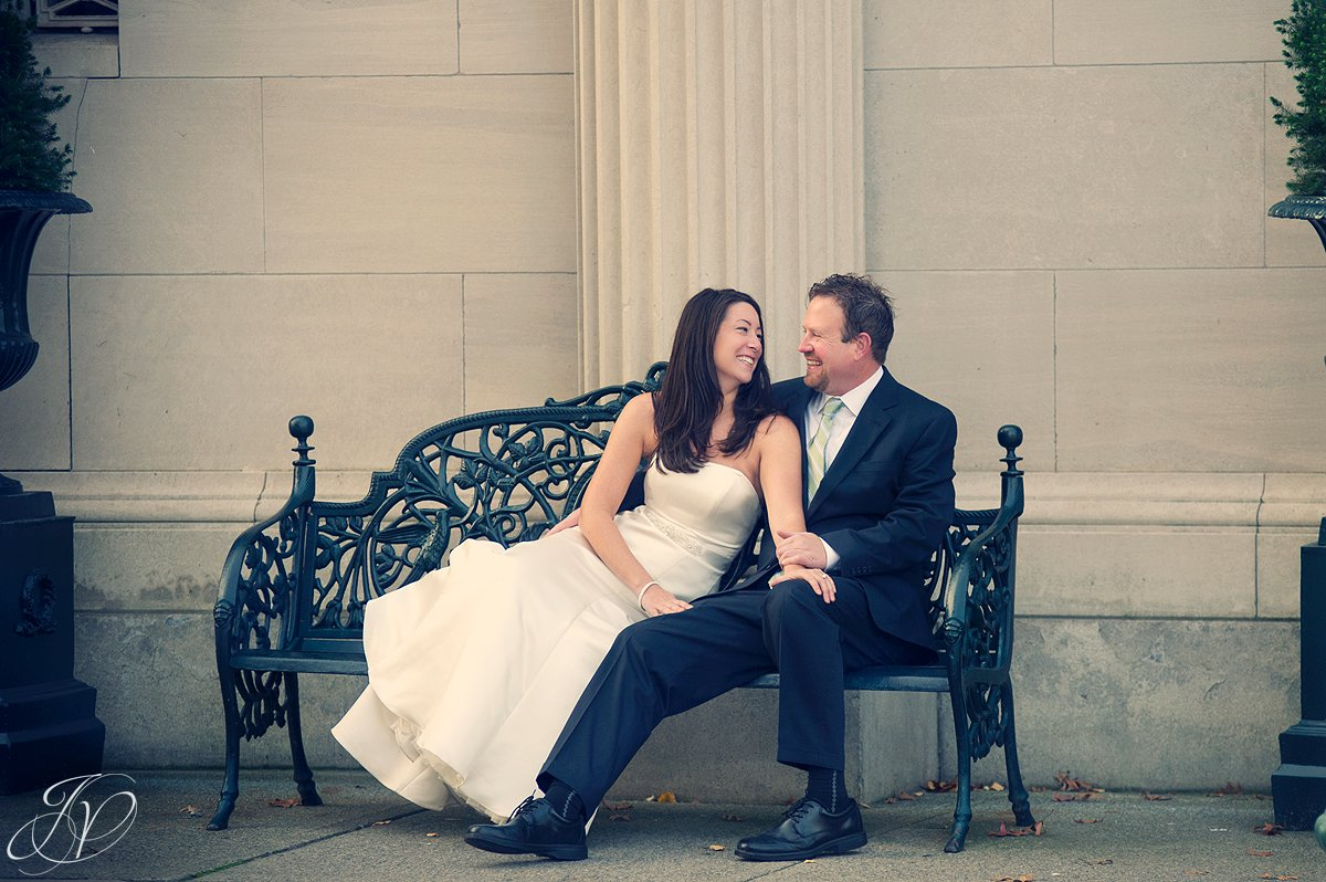 Franklin plaza photography, rock the dress session, downtown troy photo session