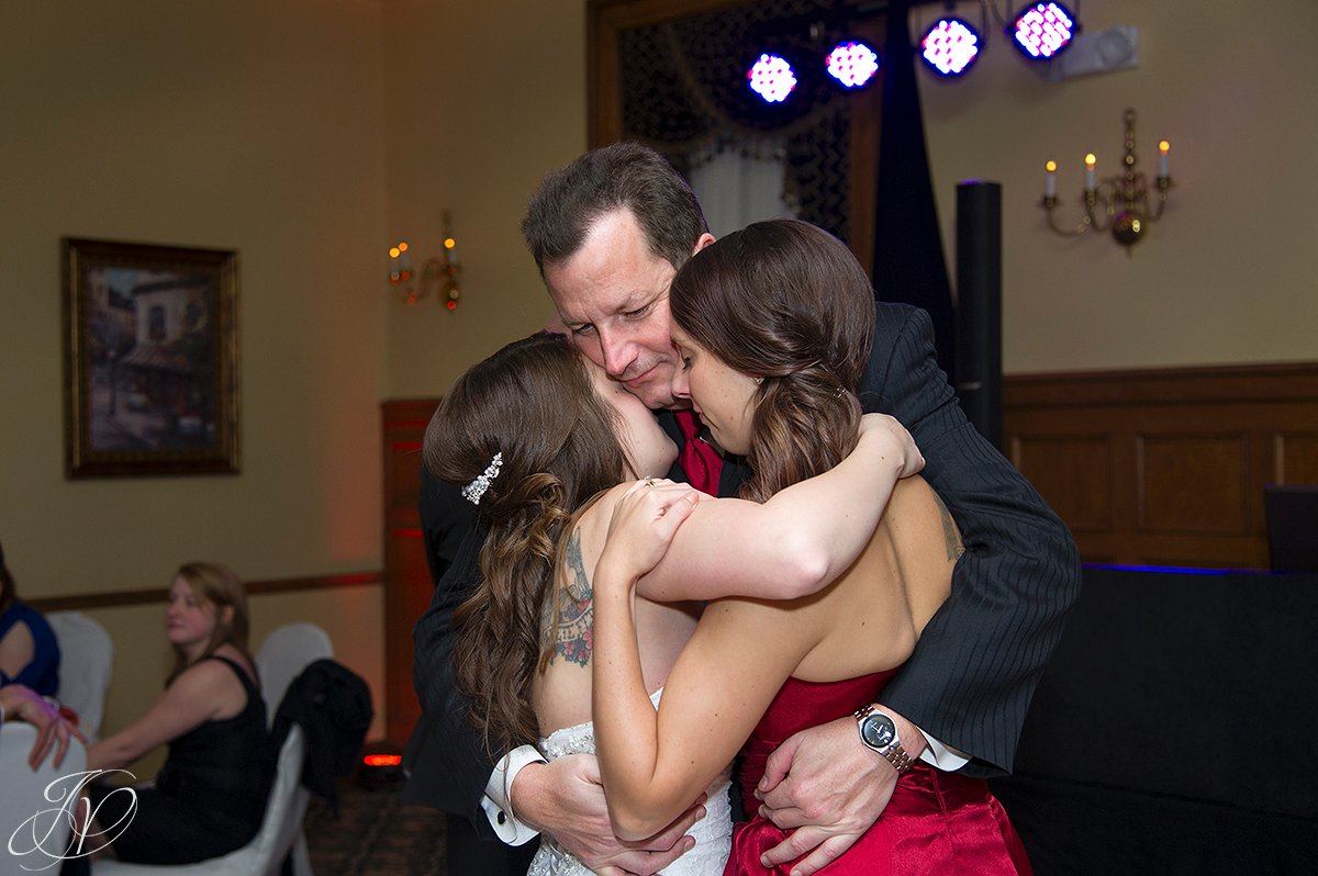 father daughter dance, mother son dance, first dance, stockade inn, schenectady wedding photographers