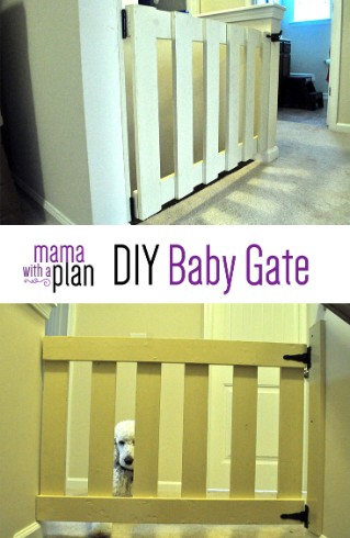 Make Your Own Baby Gate Mama With A Plan