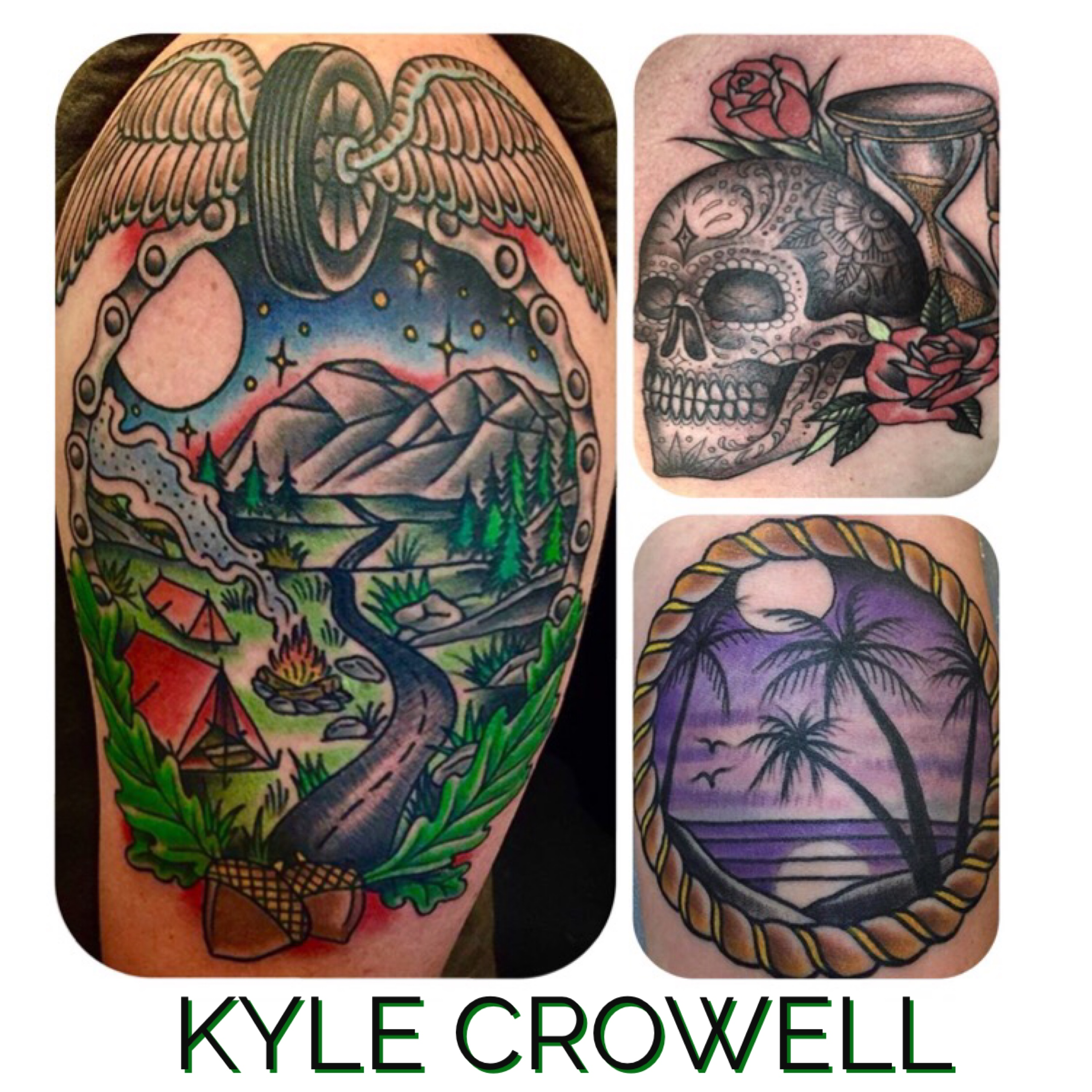 Kyle Crowell for Torch Tattoo