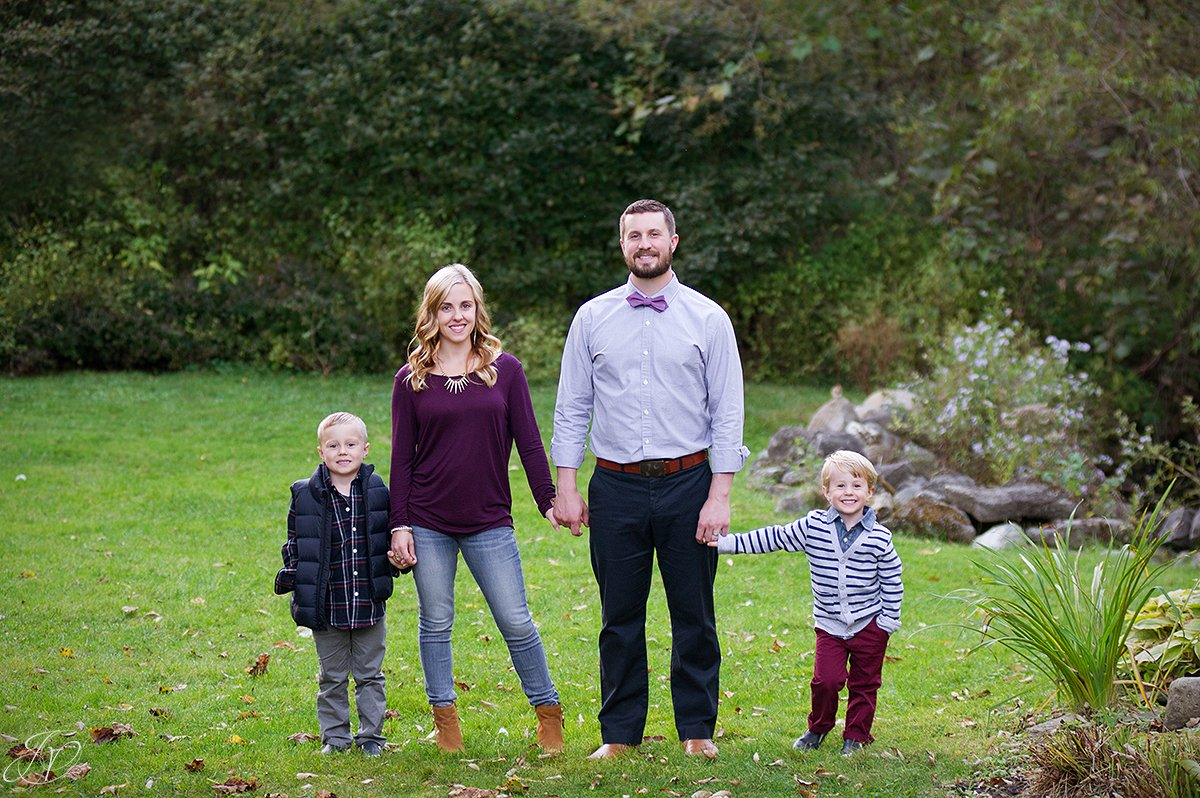 fall family portrait saratoga springs