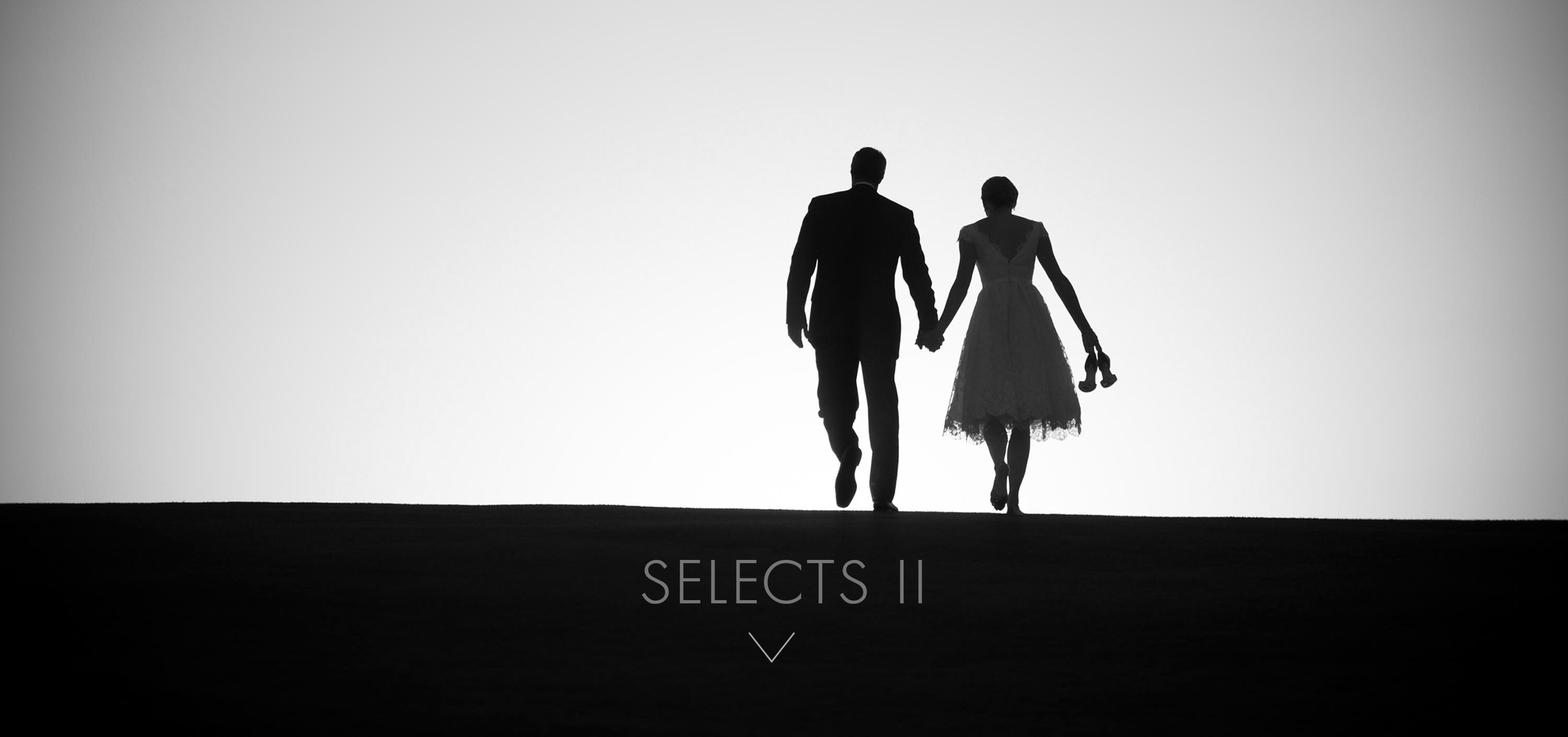 Silhouettes at Cypress Country Club Wedding at Pebble Beach