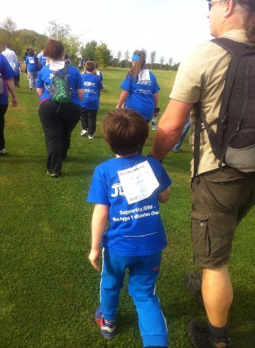 Help Me Raise a further £1000 for our 7th JDRF walk