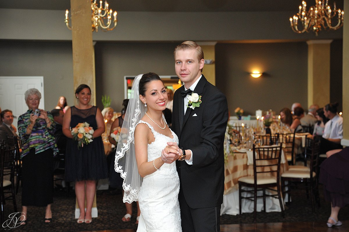 bride and groom first dance normanside country club