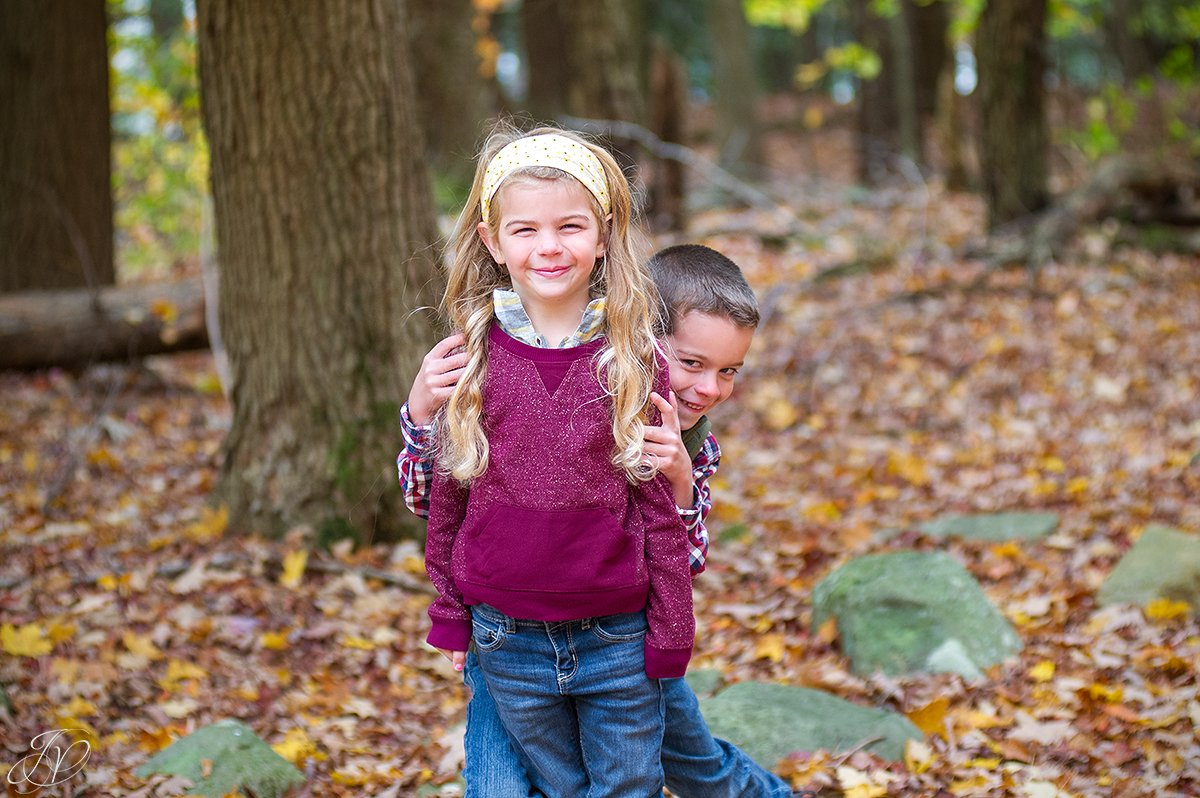 adorable kids during photo session
