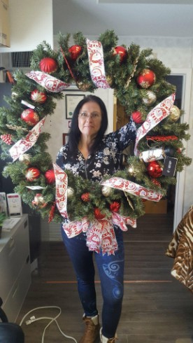 community Christmas Wreath