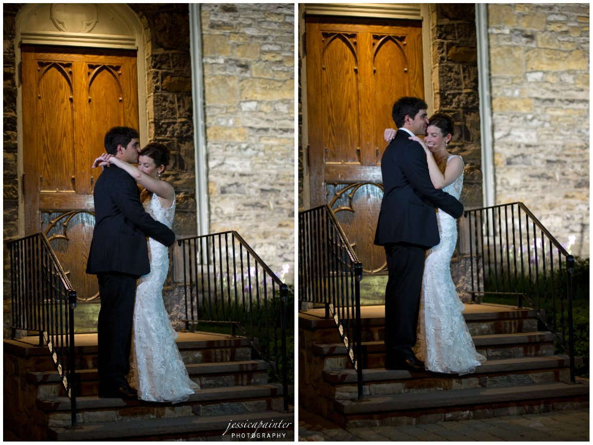 candid bride and groom, wedding night photo, reception photo, albany wedding photographer