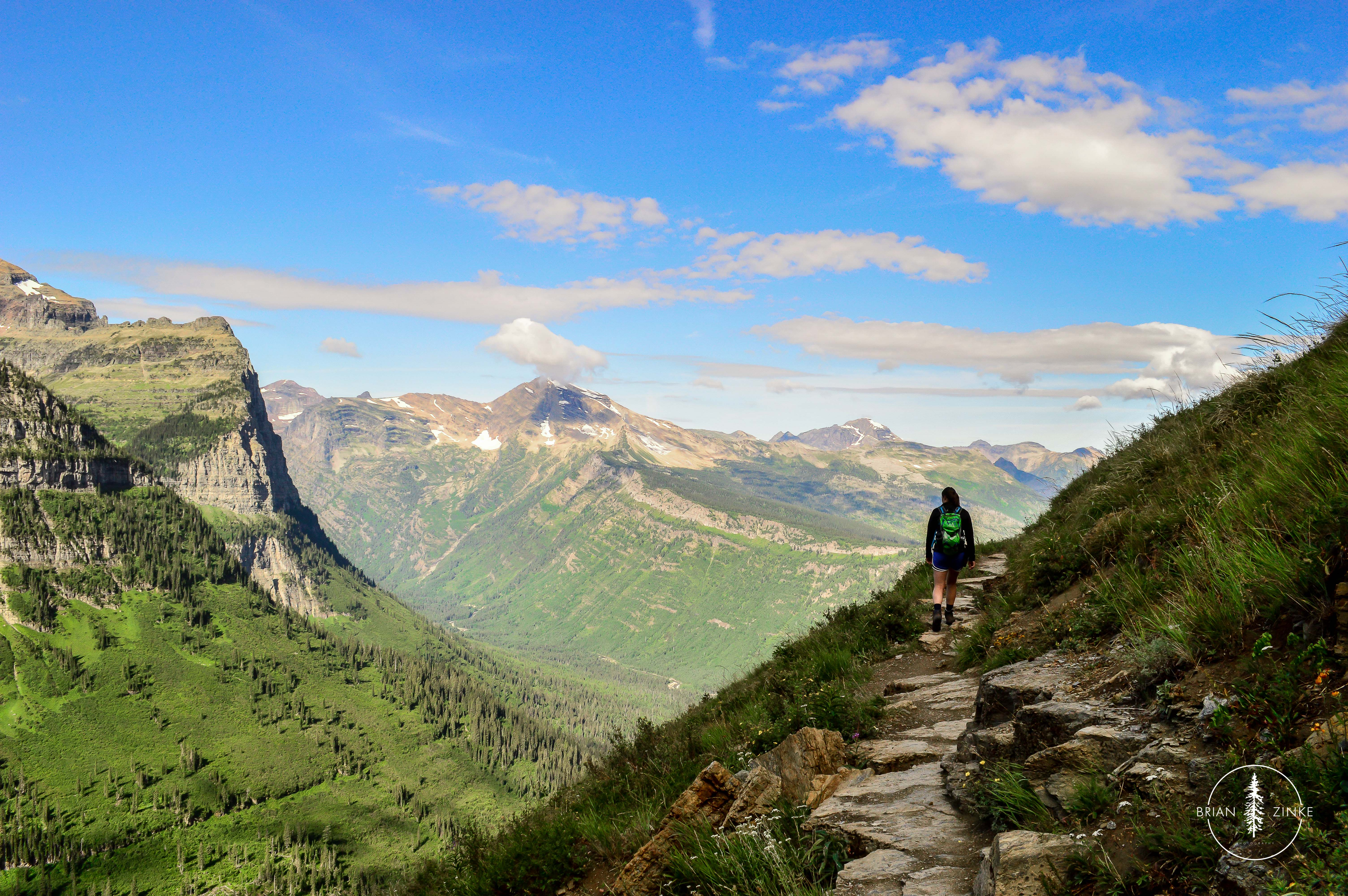 Glacier National Park, American Forests, Highline Trail, Brian Zinke Photography, Montana