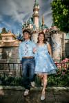 Aastha & Francis Disneyland Engagement Shoot