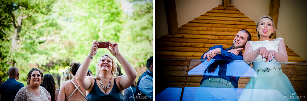 Laughter at The Mill Barns wedding venue