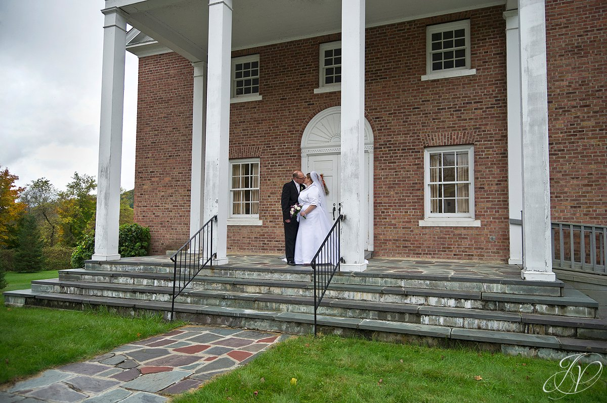 bride and groom at church, Lake George Wedding Photographer, wedding ceremony photo, Wedding at The Queensbury Hotel,