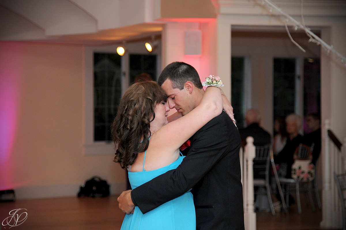 emotional groom first dance with his mother