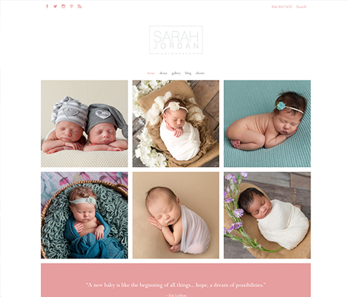 PhotoBiz 8 Sinclair template
