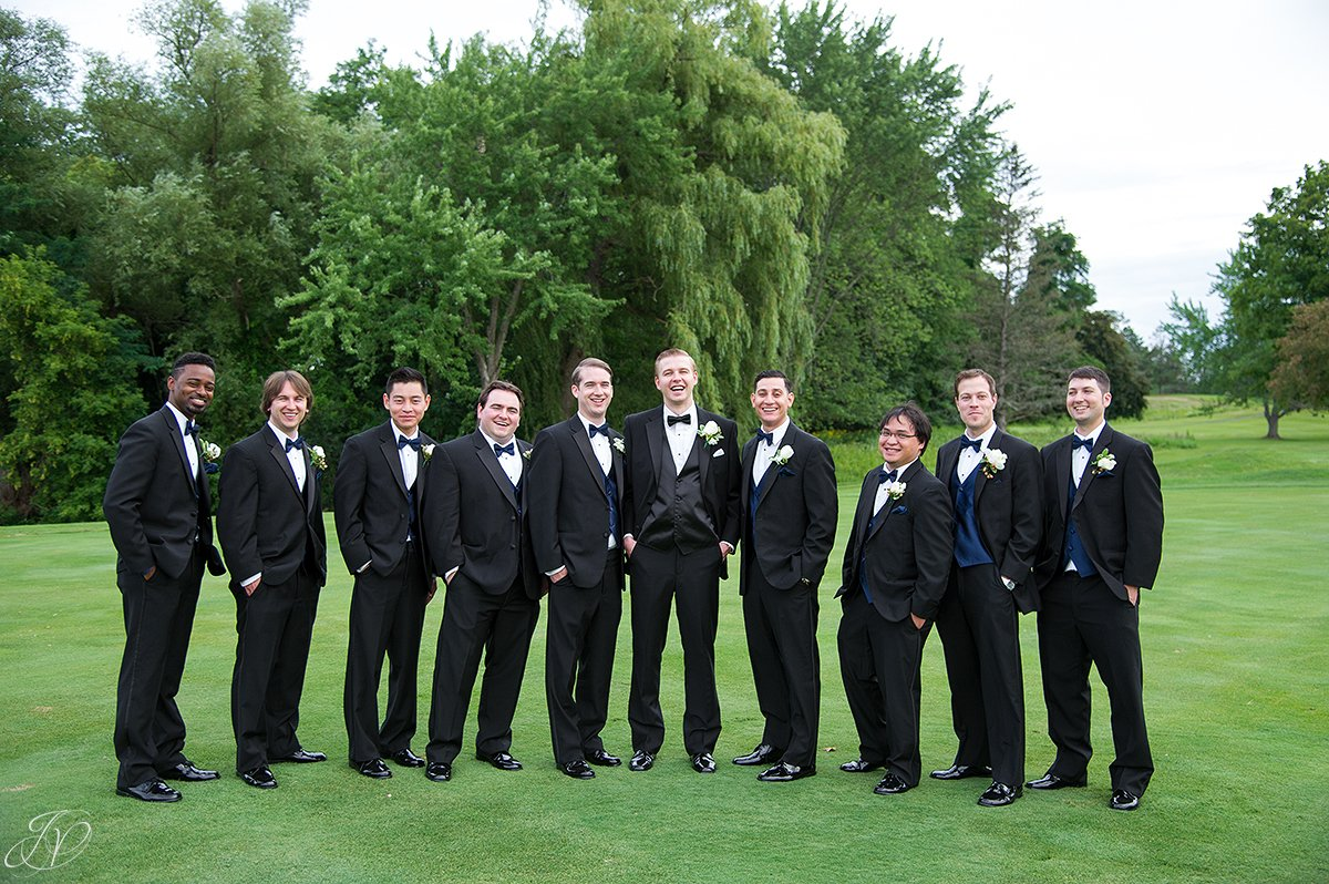 large bridal party normanside country club