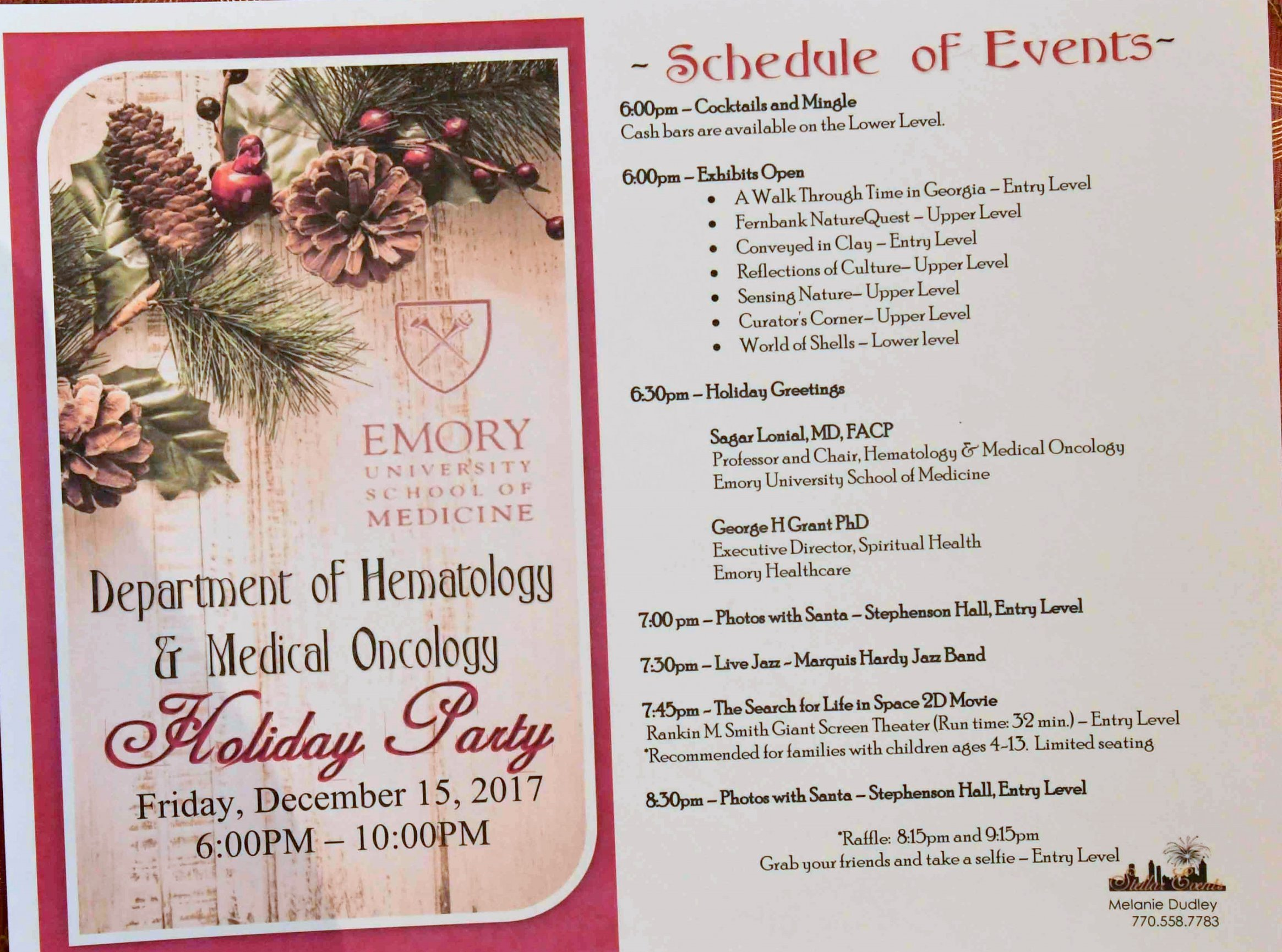 An Emory Hematology Christmas Party 2017 - Moments Forever Photography