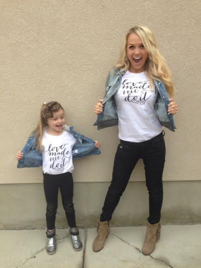 Mommy and Me T-Shirts - Cozette Couture c02f8ebe5d32