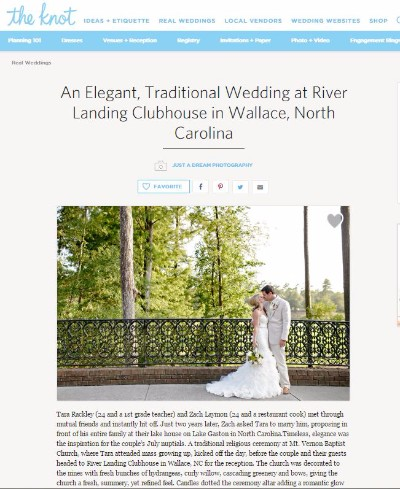 just a dream photography wallace nc river landing wilmington nc wedding photographers featured published photographers the knot photo
