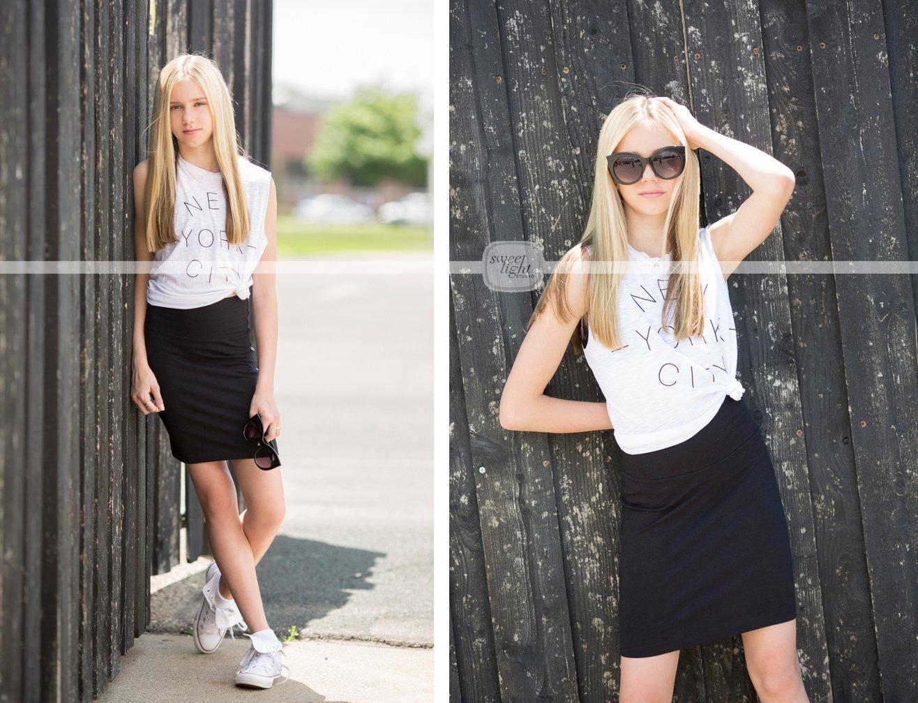 Sweet teen models