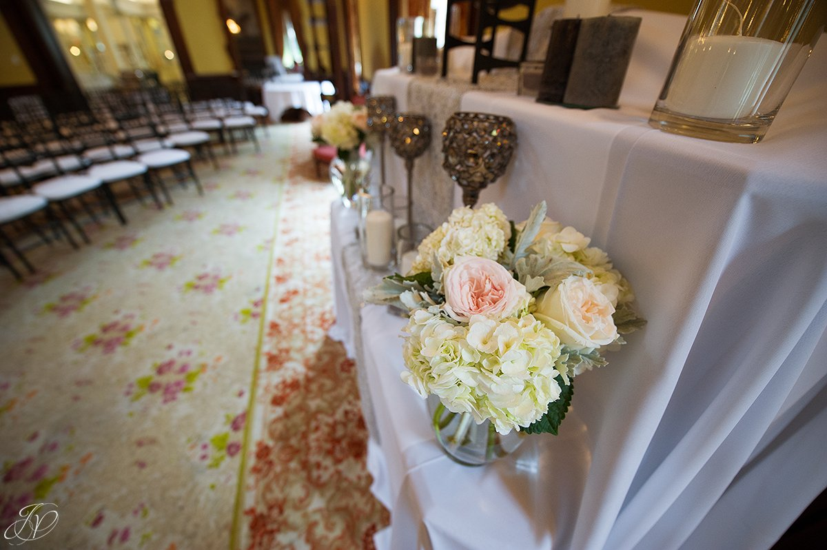 wedding ceremony details canfield casino