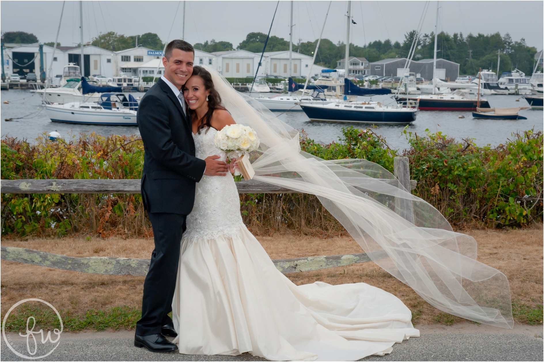 A Coonamesset Inn Wedding in Falmouth, MA, Photographed by Freestyle Weddings