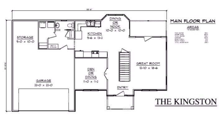 The Kingston - Tanner Built Homes, LLC on a-frame house plans, high pitched roof house plans, functional house plans, kitchen house plans, h style house plans, best small house plans, simple one floor house plans, prairie style house plans, efficient house plans, open house plans, 2 bedroom cottage house plans, bonus room house plans,