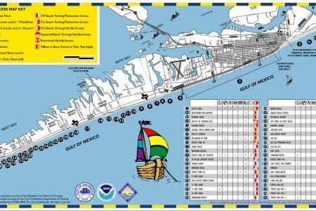 Galveston Island Maps Soar Vacation Rental Services