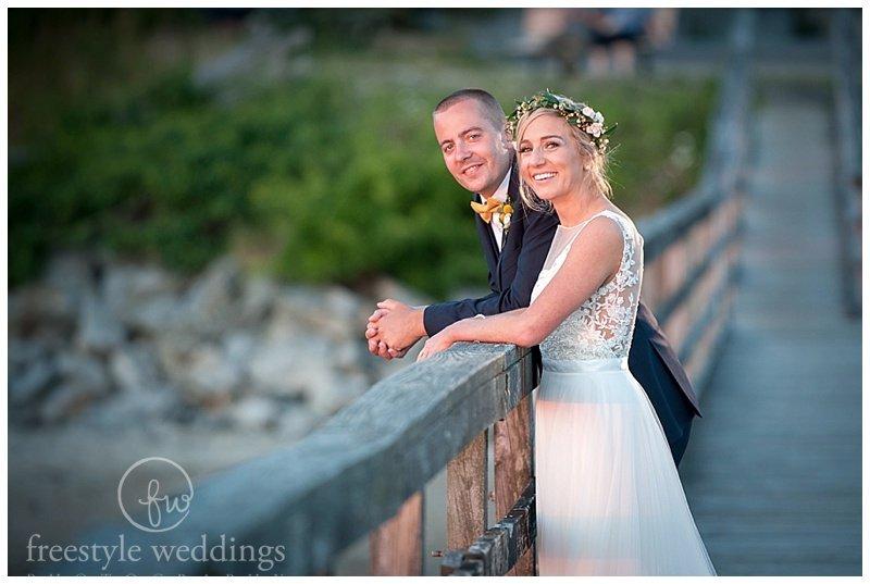 Inn on Peaks Island Wedding, Portland ME, photographed by Freestyle Weddings